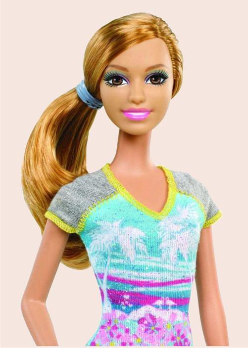 Кукла Саммер серия Барби Мода (крупным планом)