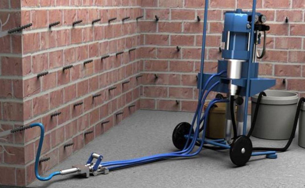 Составы для гидроизоляции методом инъецирования