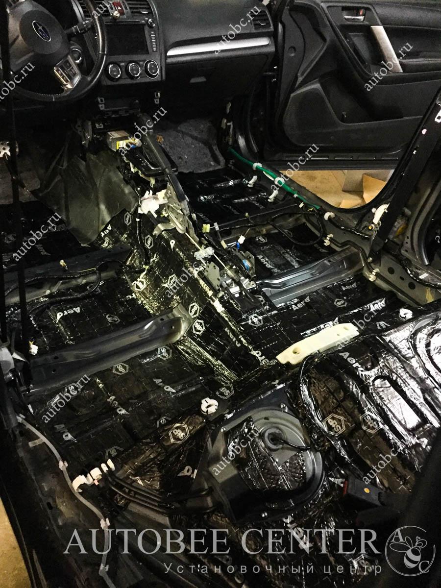 Subaru Forester (полная шумоизоляция салона)