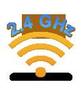 Wireless technology 2.4 GHz