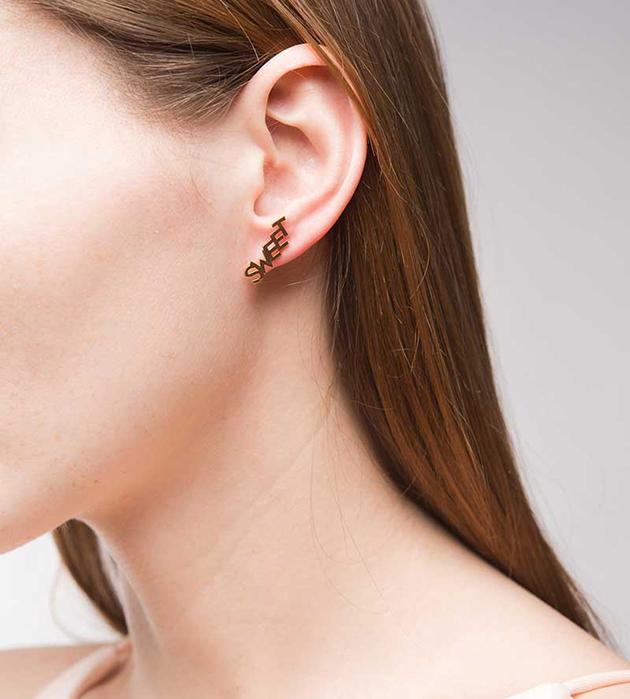 стильные серьги-гвоздики от MFP - Sweet Life small earrings