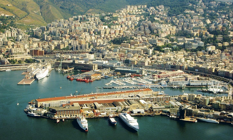 Генуя порт в Италии