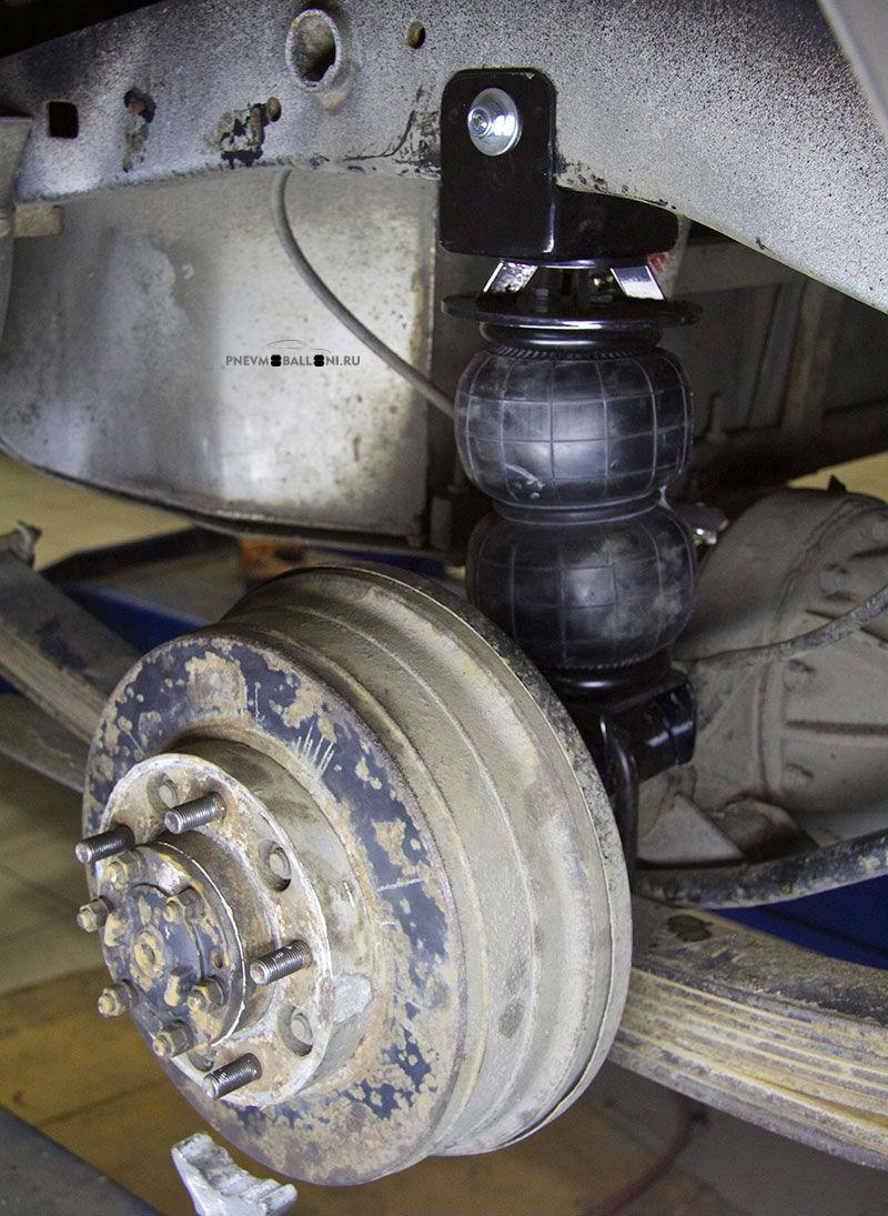 Задняя пневмоподвеска для Land Cruiser 78