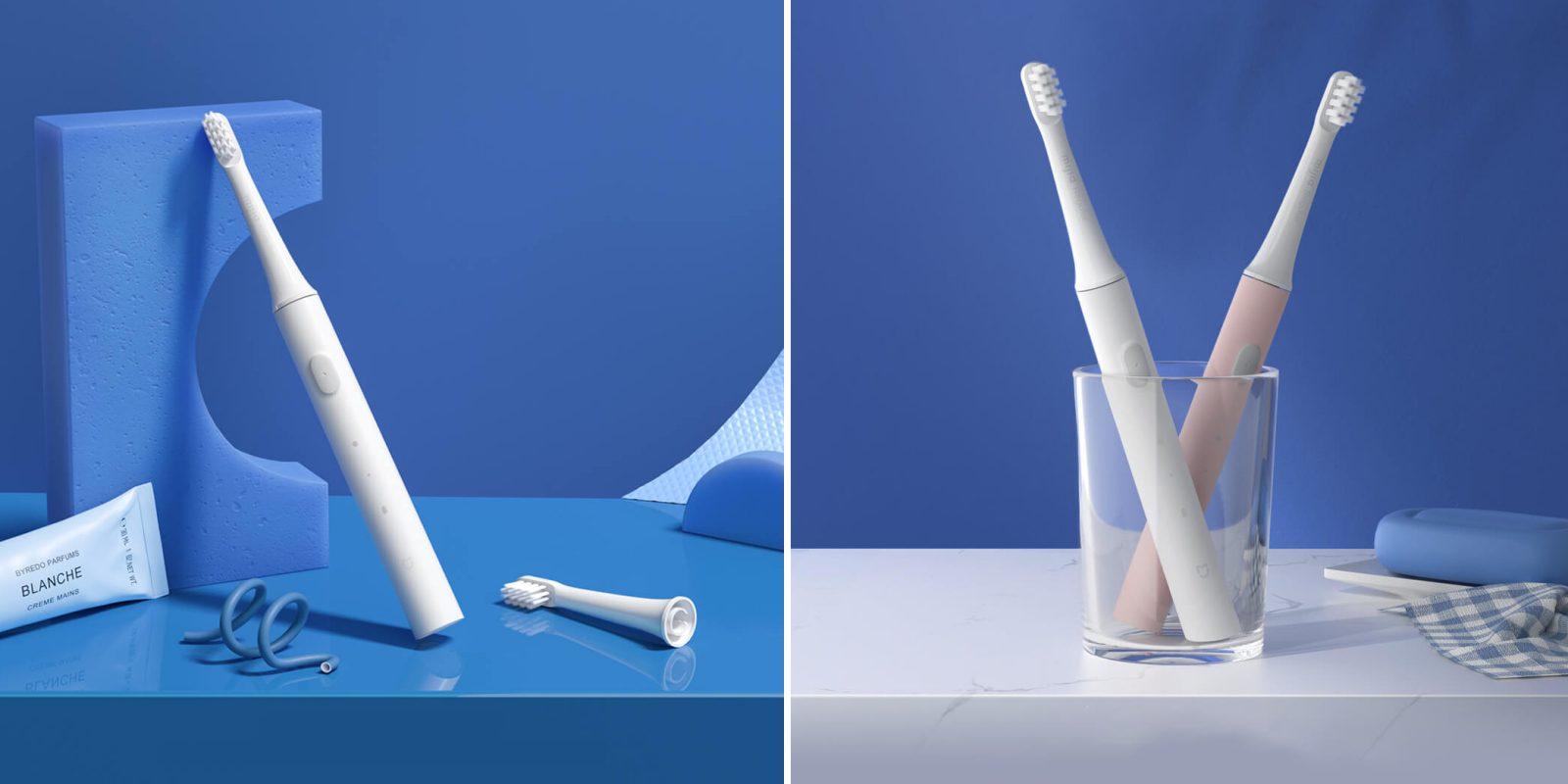 Электрическая зубная щетка Xiaomi Mijia Sonic Electric Toothbrush T100 (белая)