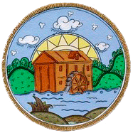 Водяная мельница в селе Лох