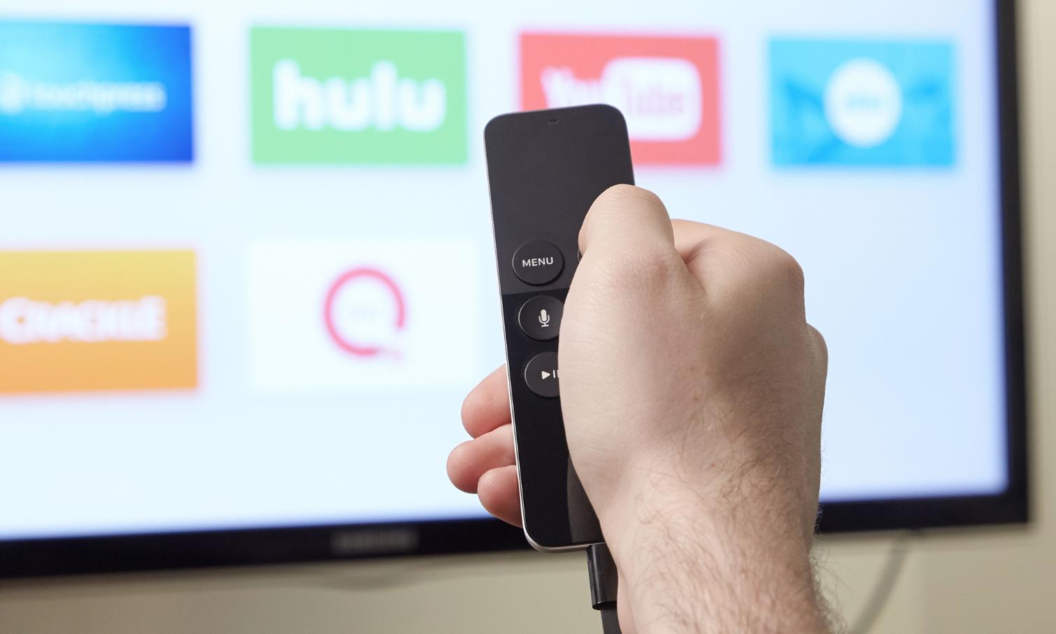 Apple TV Remote MQGE2 - Пульт для плеера Apple TV.