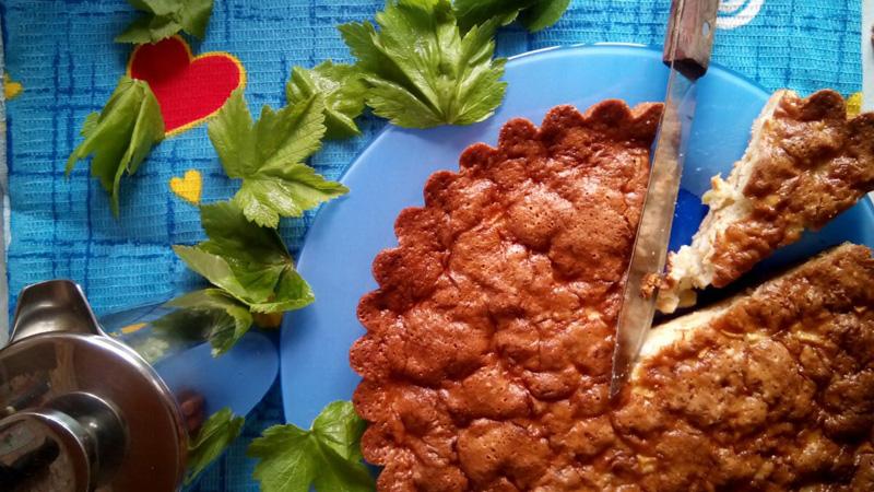 Яблочный пирог. Автор фото - Марина Фролова, повар И-МНЕ Москва