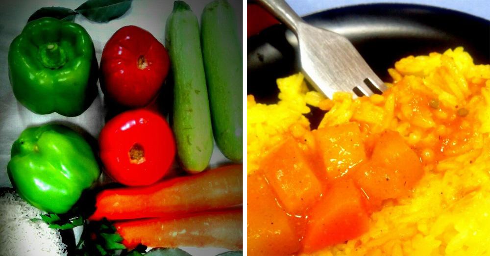Овощное карри с басмати. Автор фото - Марина Фролова, повар И-МНЕ Москва