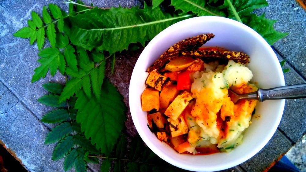 Рагу из тофу и овощей. Автор фото - Марина Фролова, повар И-МНЕ Москва