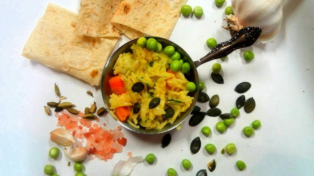 Плов с овощами. Автор фото - Марина Фролова, повар И-МНЕ Москва