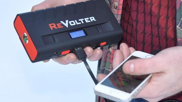 Используйте пусковое устройство ReVolter Nitro как PowerBank