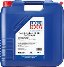 Масло liqui moly грузовое SAE 75w90