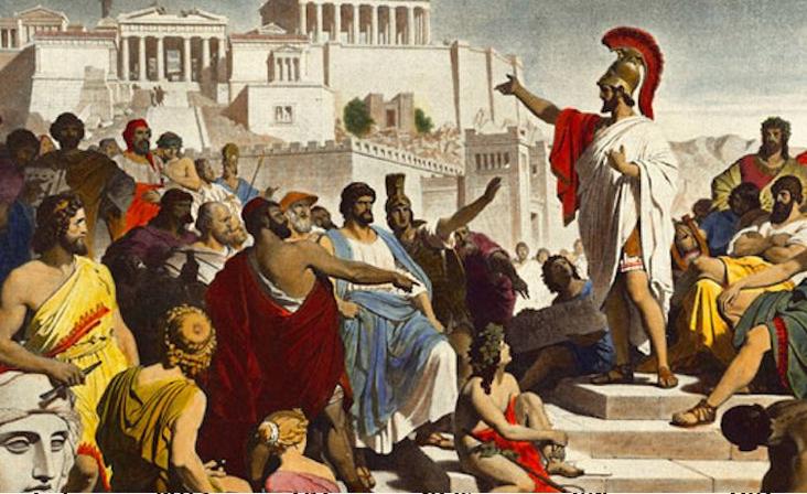 Демократия Греции