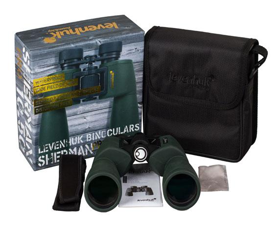 Бинокль Levenhuk Sherman Pro 10x50: комплект поставки