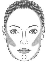 Коррекция квадратной формы лица