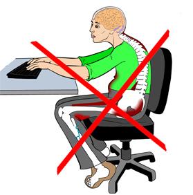 Даже при длительном сидении СПИНА НЕ УСТАЕТ, желание облокатиться на спинку исчезает так, как исключается затекание всего тела. В частности мышц спины и шеи, а так же рук и ног.   Перестают затекать мышцы тазового дна.   Как результат - мы сидим не замечая того, что сидим.