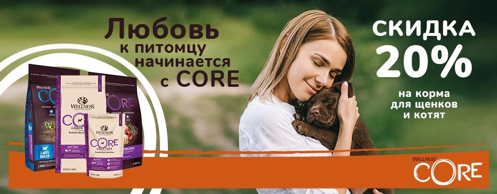 До 20% на Wellness CORE!