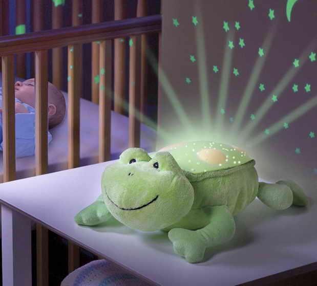 Ночник-проектор Лягушка
