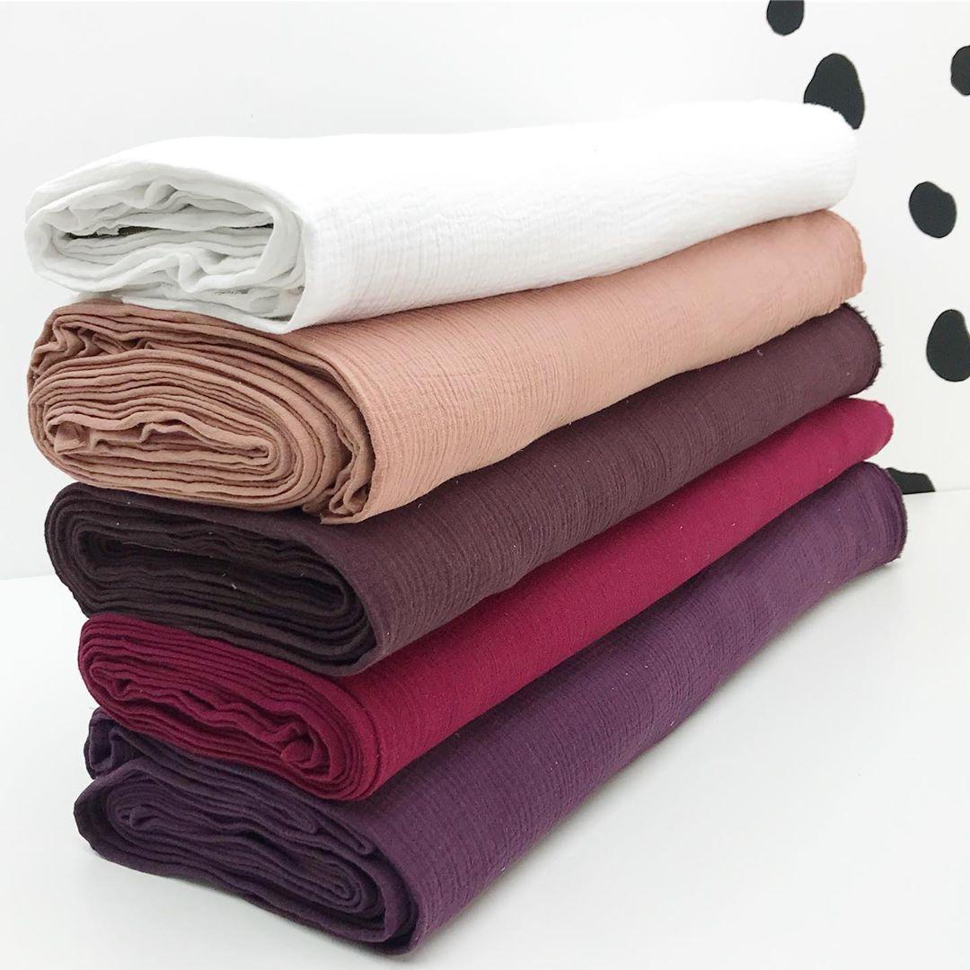 Ткань двухслойный муслин для пошива одежды