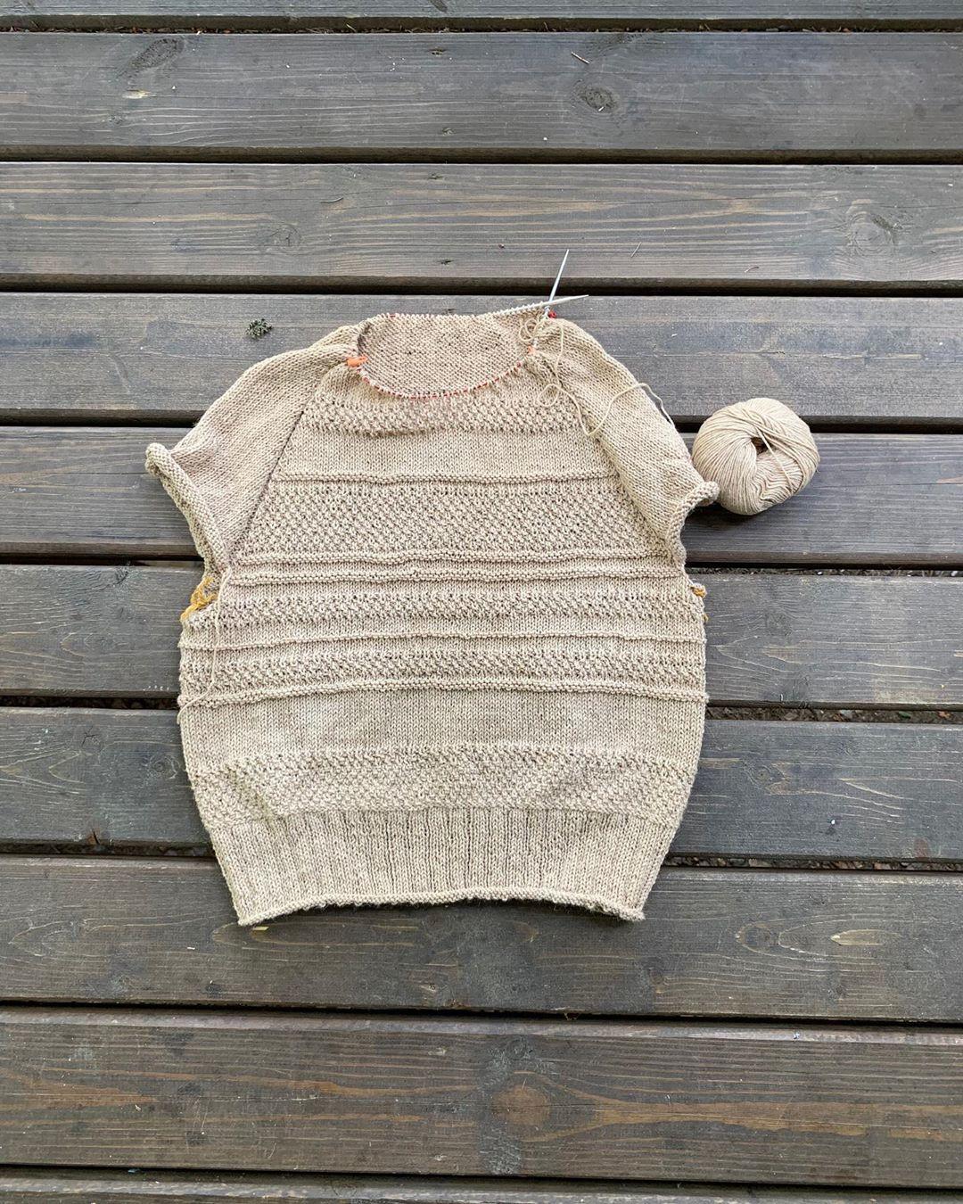 свитер из верблюжьего пуха от sarlag