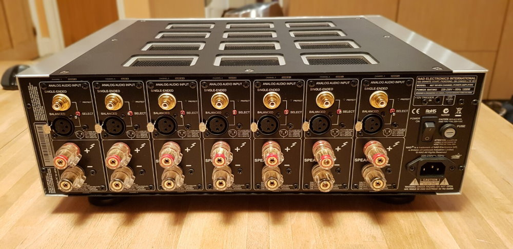 Усилитель мощности 7 каналов NAD M27