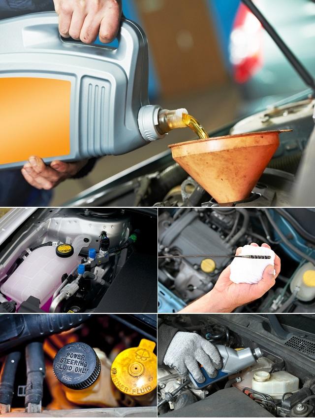 Эксплуатация двигателя машины