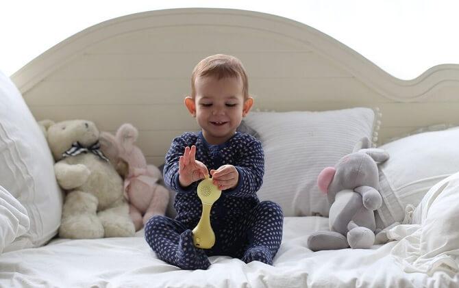 Зайчик Alilo R1 желтый для малышей