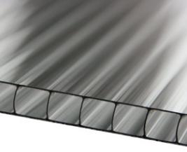 Вентиляционные панели из поликарбоната для коровников в разрезе