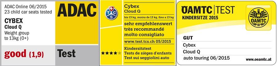 cybex cloud q crash tests