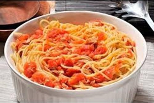 Добавляем тунец в спагетти