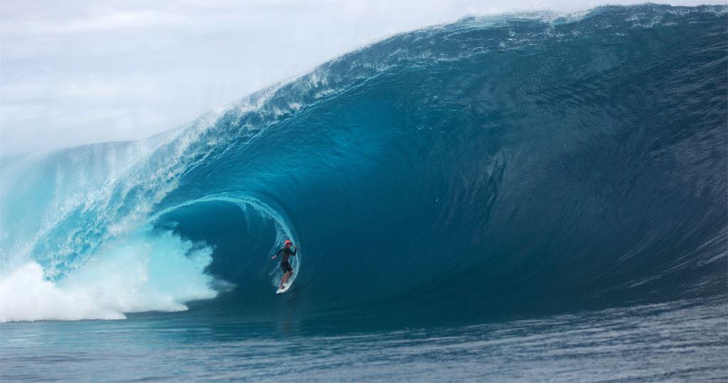 Таити, Teahupoo, одна из самых опасных волн в мире