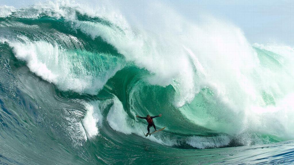 Shipstern Bluff в Австралии, одна из самых опасных волн в мире