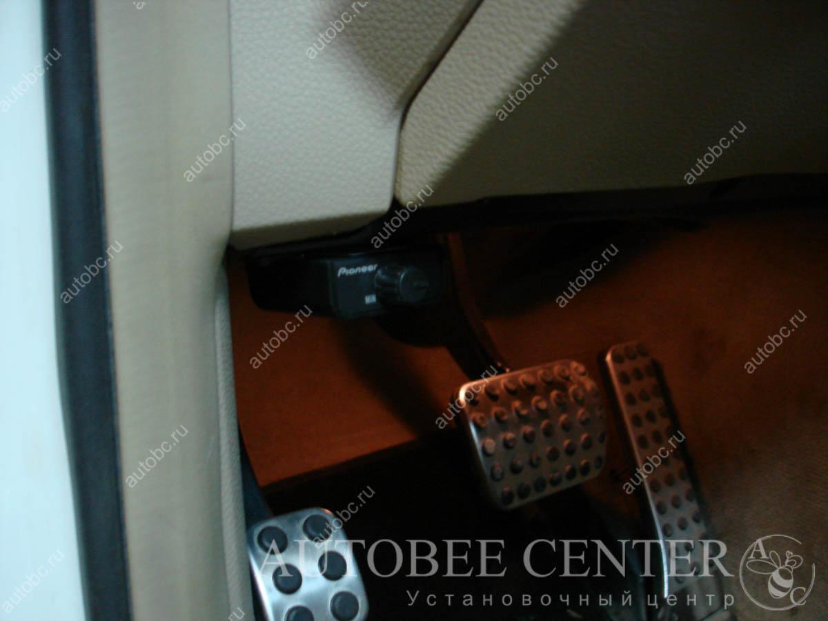 установка регулятора для саба