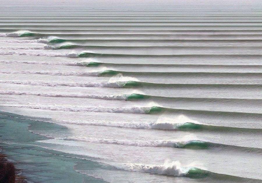 Чикама, самая длинная волна в мире
