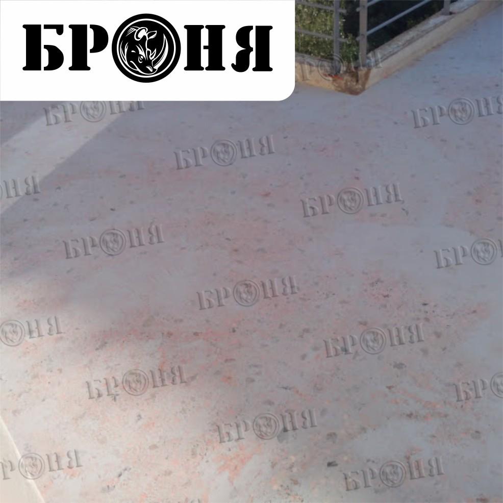 Греция. Утепление эксплуатируемой крыши теплоизоляционной шпатлевкой Броня Лайт под плитку