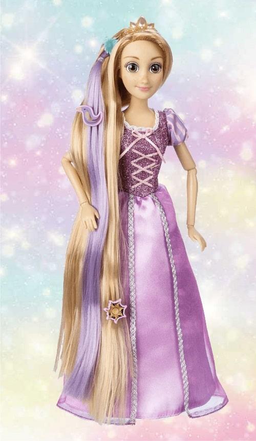 Кукла Рапунцель - серия Сверкающие волосы