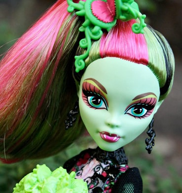 кукла Венера МакФлайтрап, Monster High