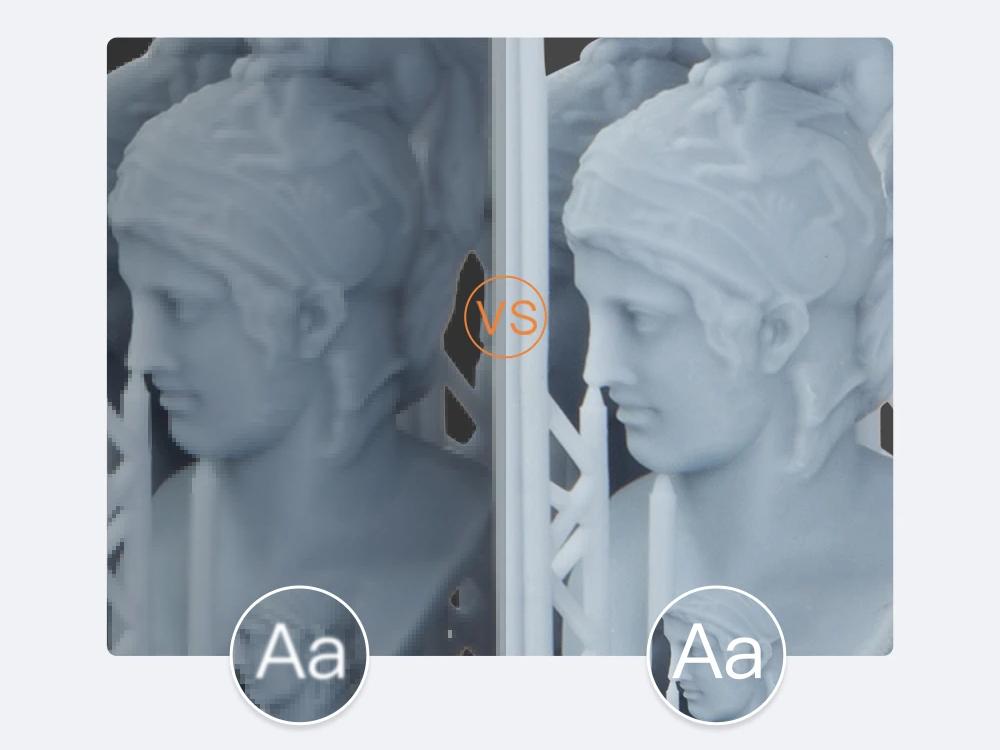 Параллельная LCD матрица обеспечивает стабильную равномерную засветку до 90%.
