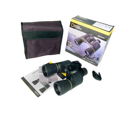 Бинокль Bresser National Geographic 8-24x50: комплект поставки