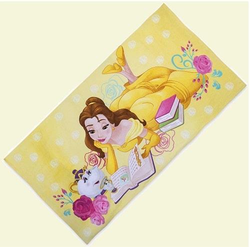 Пляжное полотенце - принцесса Белль