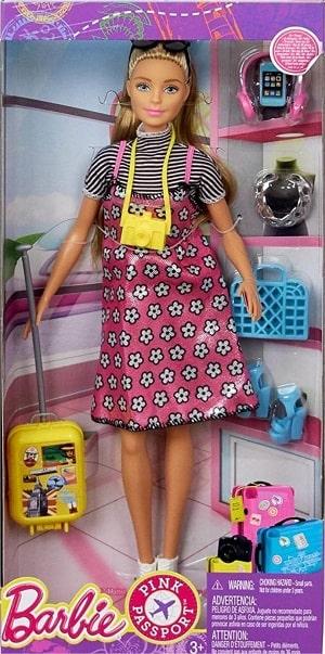 Игровой набор Barbie из серии Путешествие с аксессуарами
