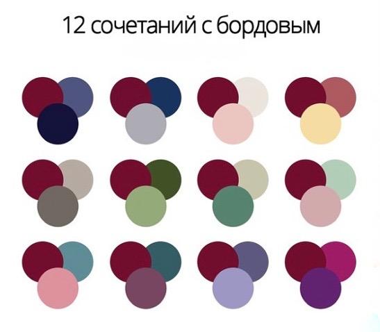 Сочетания цветов картинки