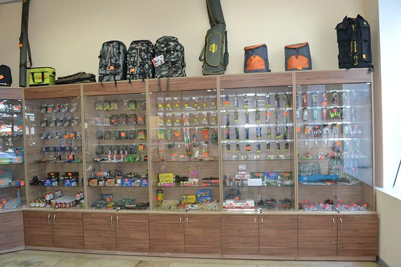 """Принадлежности для рыбалки в Николаевском магазине """"Рыбалка и туризм"""""""
