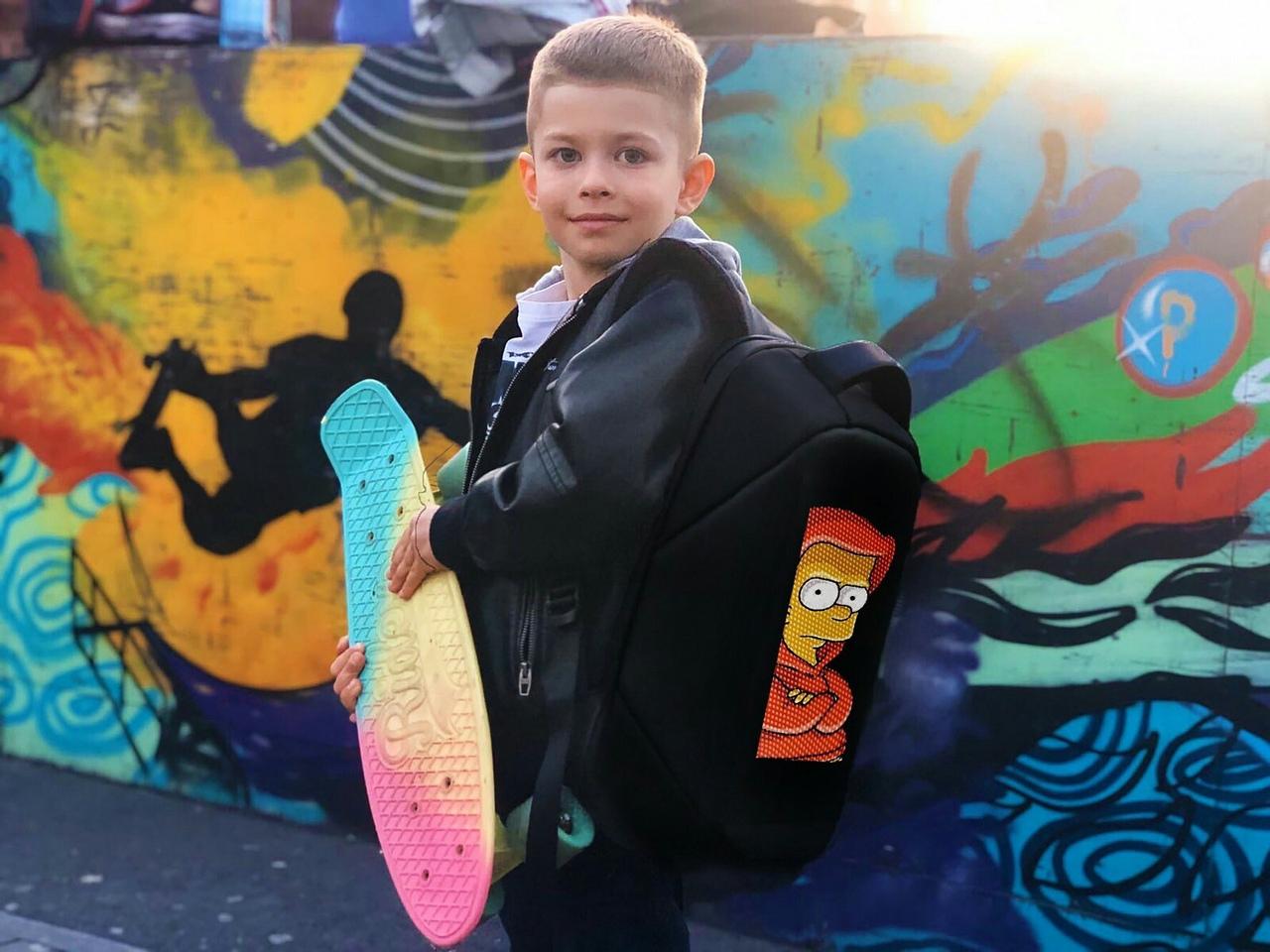 Led рюкзак для школьника