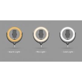 Кольцевые лампы - Светодиодная кольцевая лампа Totu 539B3 30 см