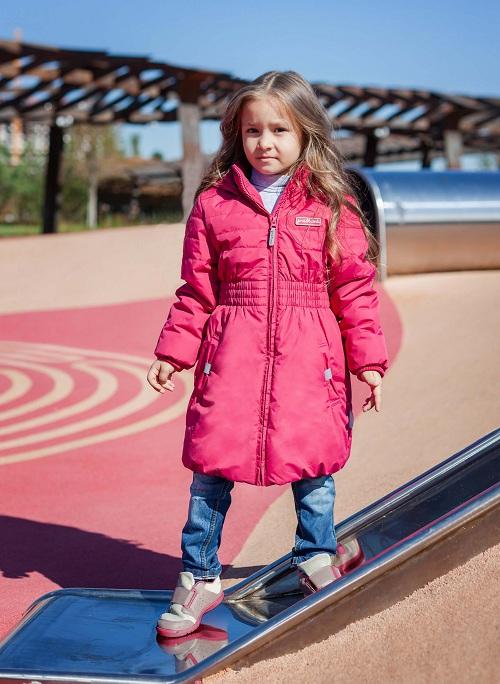 Детское пальто Premont для девочек Канадский плющ SP91604 в магазине Premont-shop