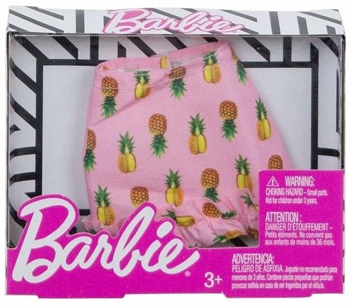 Юбка для Барби - Ананас