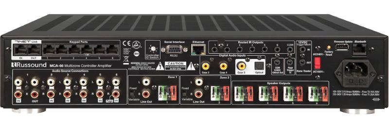 Контроллер мультирум Russound MCA-66