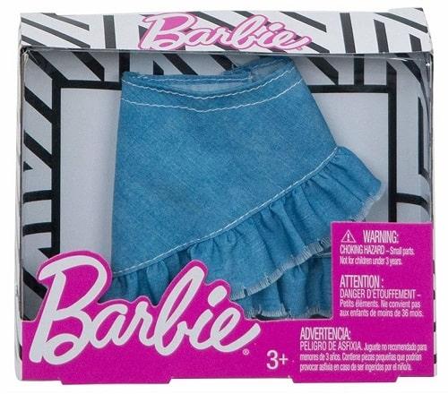 Юбка джинсовая  для кукол Barbie