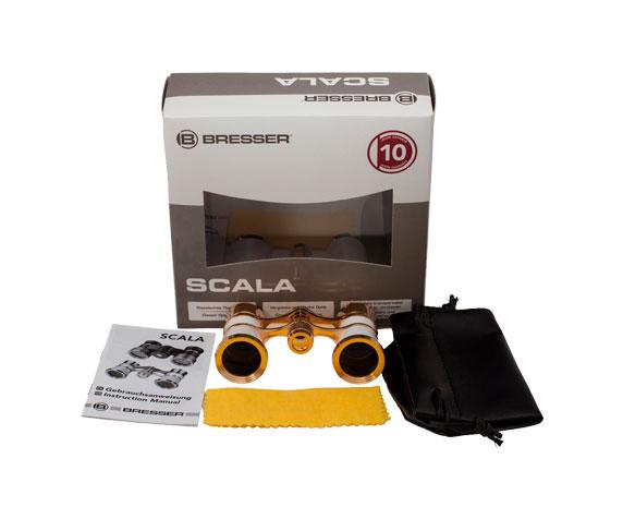 Бинокль Bresser Scala 3x25 MPG: комплект поставки